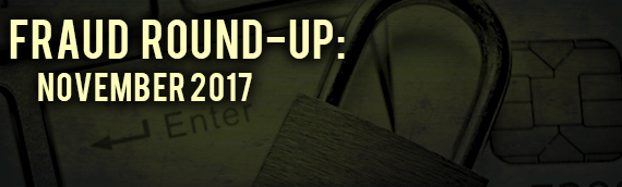 Fraud News November 2017: Public Corruption, Bribery & More